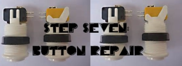 arcade button repair