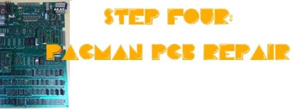 pacman pcb repair