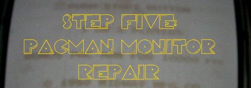 pacman monitor repair