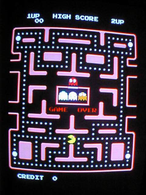Ms pacman working game